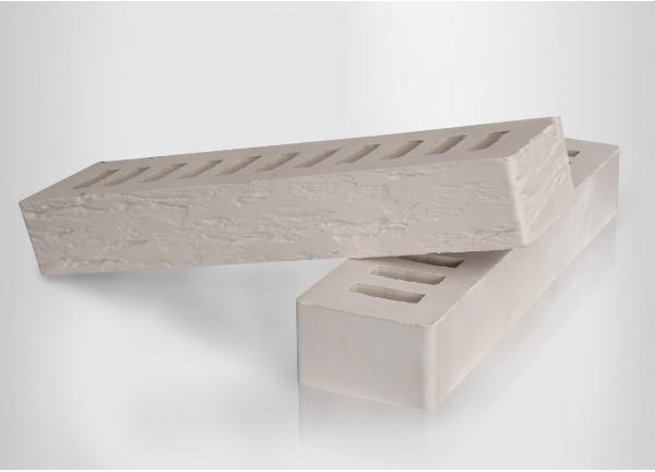 Кирпич керамический  Белый ROCK (ригельный)