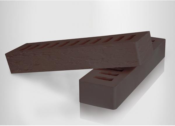 Кирпич керамический  Коричневый ROCK (ригельный)