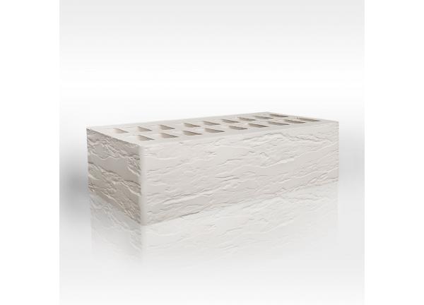 Кирпич керамический  Белый Rock