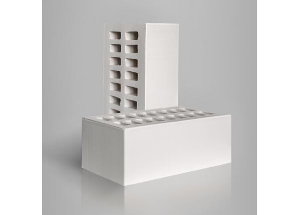 Кирпич керамический  Белый